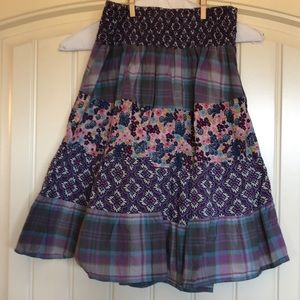 Floral Pattered Skirt